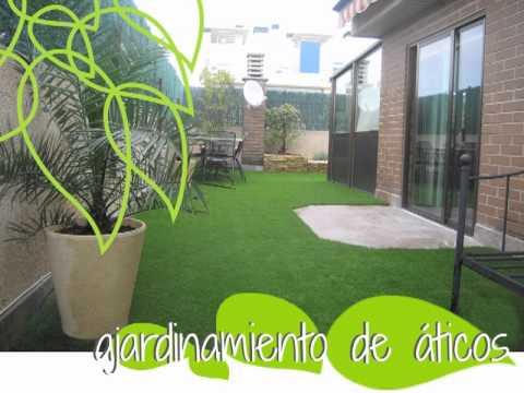 Jardiner a en terrazas y ticos en zaragoza tierra savbia - Diseno de terrazas aticos ...