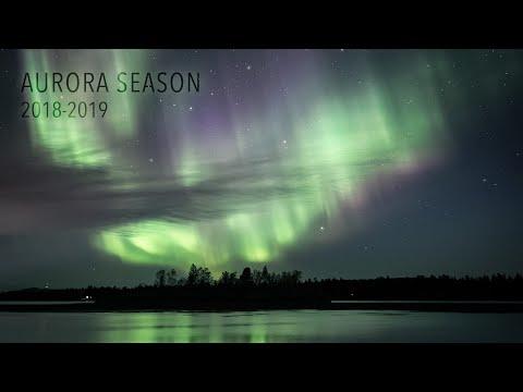 Aurora Season 2018-2019 (4K TIMELAPSE)