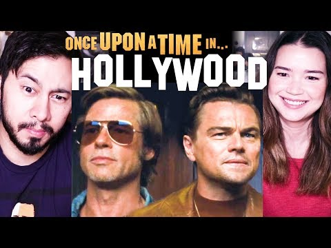 ONCE UPON A TIME IN HOLLYWOOD | Tarantino | Trailer #2 Reaction!