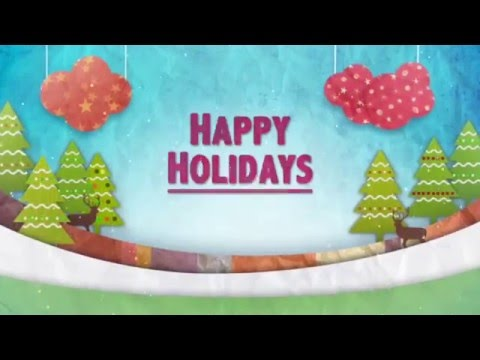 Happy Holidays from County Manager Wendell Davis