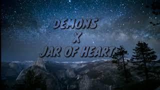 Download lagu Demons x jar of heart (lyric)
