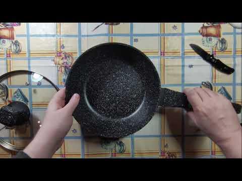 Сковорода Bollire Venezia с крышкой 24 см (BR-1009)