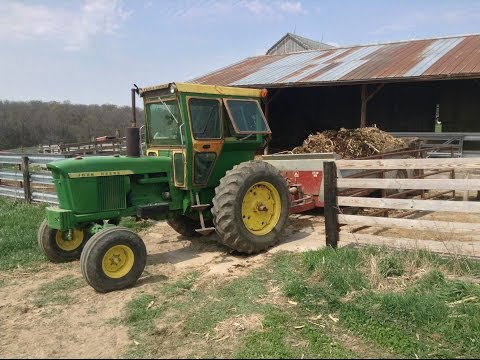 Fish kills, erosion, and the JD 4020 hauling manure