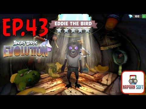 ANGRY BIRDS EVOLUTION - EDDIE THE BIRD -  TRIBUTE TO IRON MAIDEN - HATCHING 55+ PREMIUM EGGS