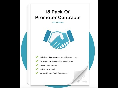 Promoter Contract Pack Walkthrough