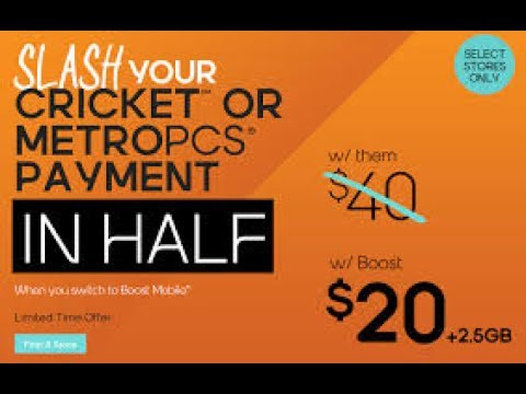 Cricket Wireless VS Boost Mobile VS MetroPCS Phone Prices & Monthly Plans Review July 2017