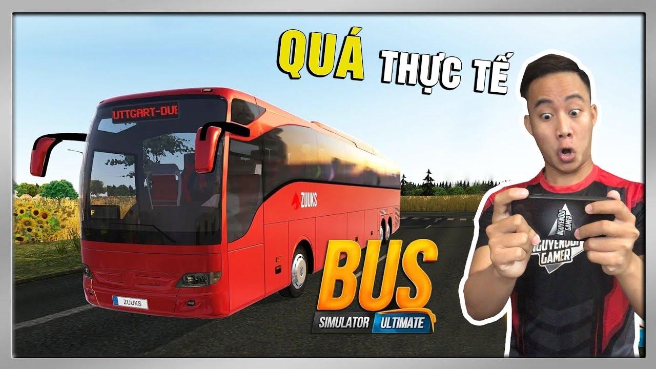 Trải Nghiệm Game Lái Xe Bus Trên Điện Thoại | Bus Simulator Ultimate