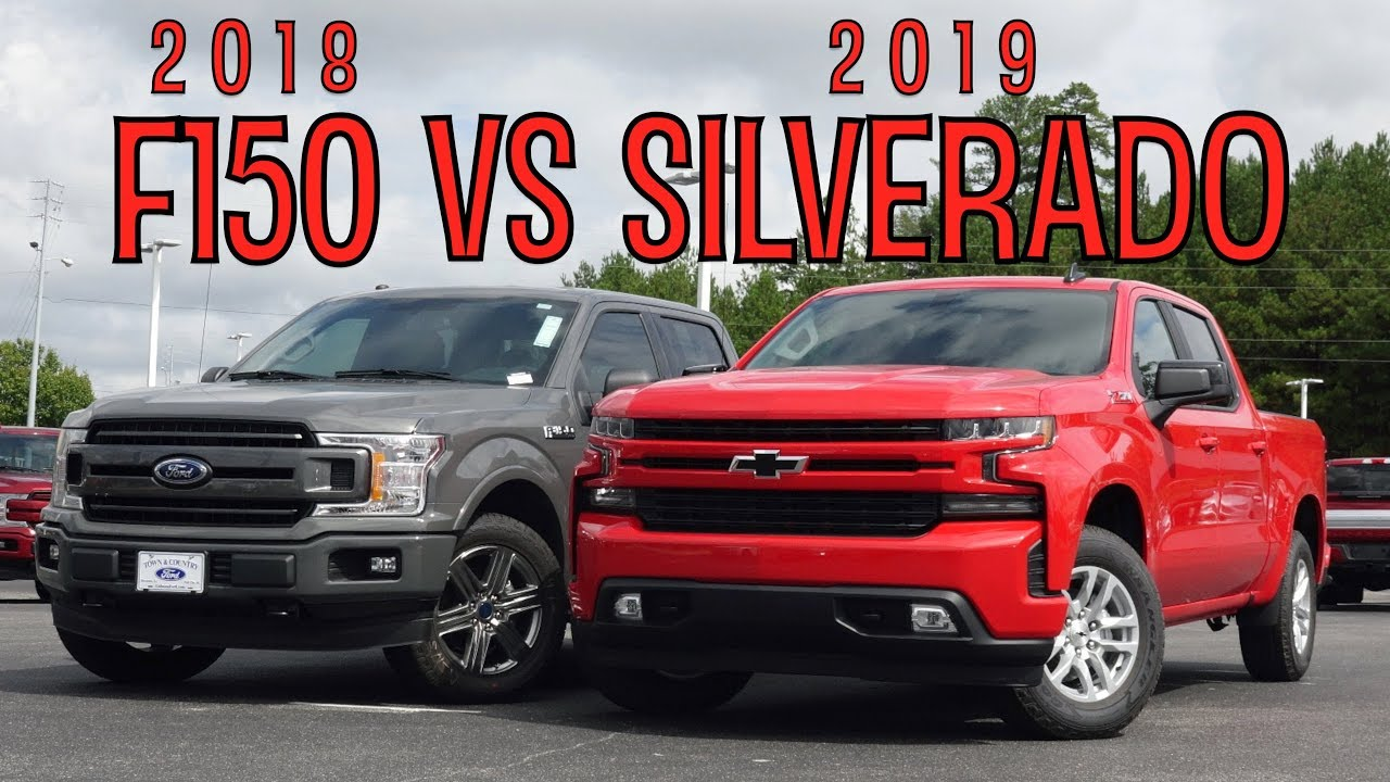 Ford Vs Chevy Trucks >> 2019 Silverado vs 2018 F150 - **A Ford Owners Perspective ...