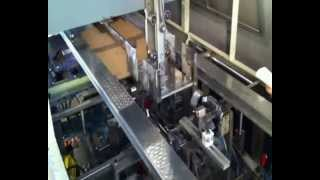 KKM-1 & KKM-2 склеивания ящиков из формирования гофрированного картона(Automatic tray forming machine for simple trays,open-top trays,and trays with top-flaps.High reliability due to the mechanical functioning. Quick size ..., 2012-02-09T08:46:03.000Z)