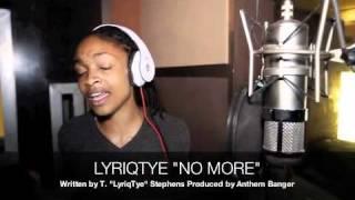 "In the Studio with LyriqTye ""No More"" (Trina ft K. Michelle)"