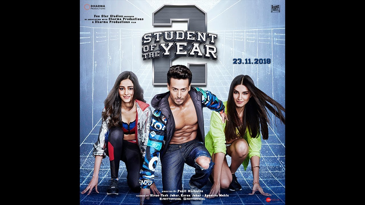 Student Of The Year 2 Class Of 2018 Full Cast Tiger Shroff