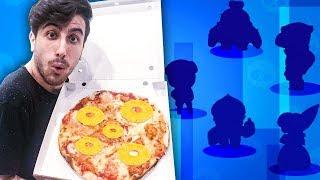 Mangio PIZZA con ANANAS Ogni NUOVO BRAWLER! Brawl Stars ITA!