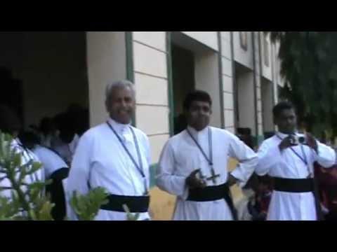 De  Mazenod Day Fr. Provincial is ready to begin the Program