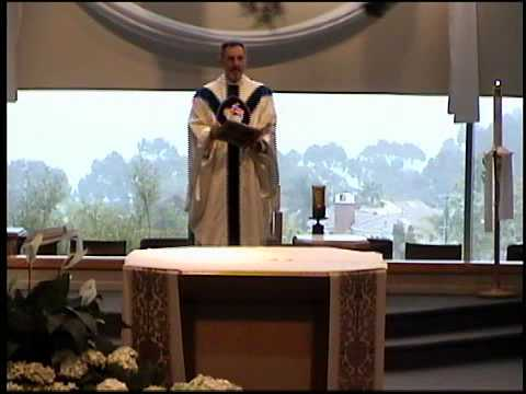 Sunday Mass, June 2, 2013   Fr. Chris Heath, Parochial Vicar at St. Edward the Confessor