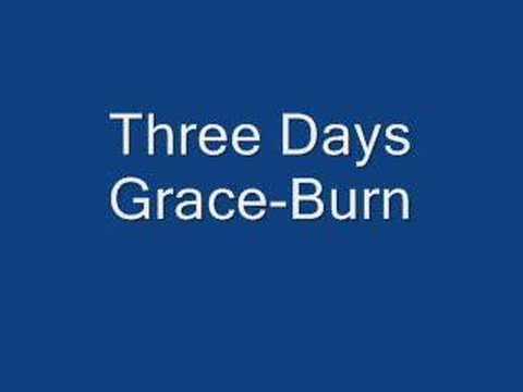 Three Days Grace-Burn