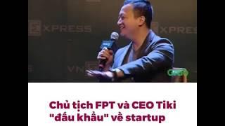 Chủ tịch FPT Trương gia bình vs CEO Tiki Trần Ngọc Thái Sơn