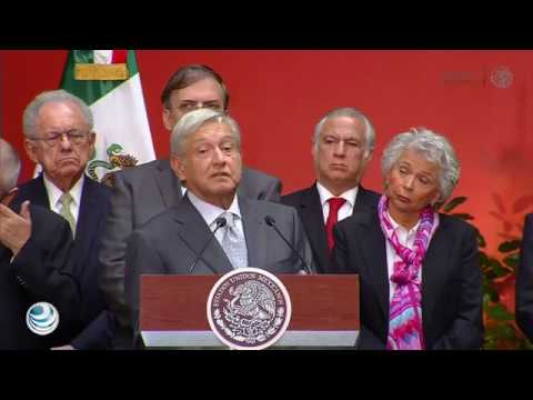 AMLO dice no a reforma educativa y Elba Esther