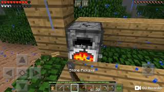 Minecraft PE Multiplayer w/brother: ep 1 part 2