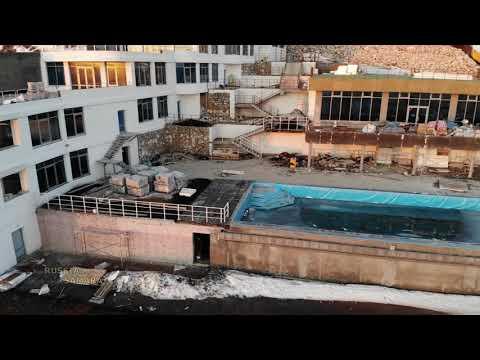 Строительство на месте Здравницы пос.Управленческий г.Самара / Russia