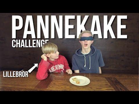 SENNEP PÅ PANNEKAKE? - Pannekake Challenge w/ Broren min
