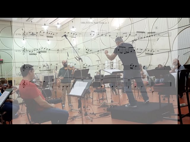 Oblivion.A.Piazzolla. Arranged Dimitris Minakakis for Viola and String Orchestra
