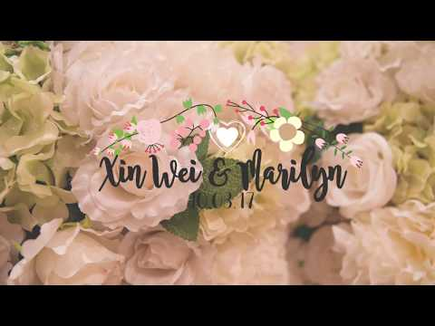 Wedding Banquet - Marilyn and Xin Wei (Marina Mandarin)