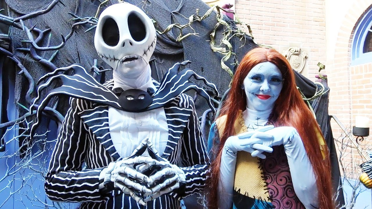 Jack Skellington & Sally Meet & Greet at Disneyland, New ...