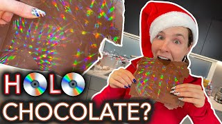 We Tried Making Holographic Chocolate