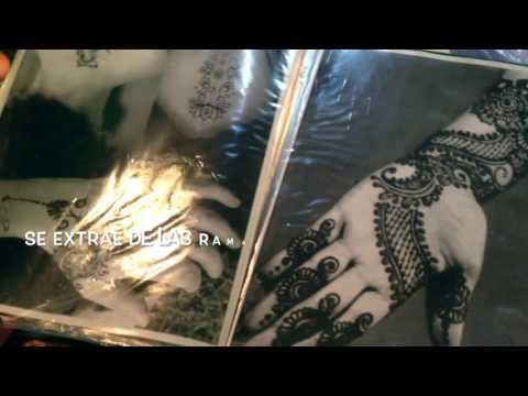 De Santiago a Abu Dhabi - Tattoo de Henna -