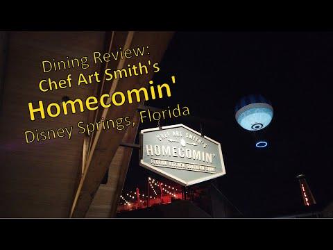 Full Dining Review | Chef Art Smith's Homecomin' Disney Springs Walt Disney World