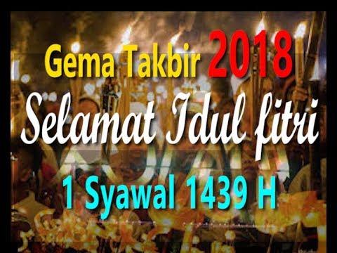 MERDU TAKBIRAN 2018 SELAMAT IDUL FITRI 2018 , 1 SYAWAL 1439 H