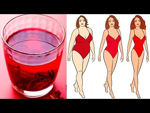 Drink This Tea Every Day to Lose Weight Naturally - Health Benefits of Hibiscus Tea
