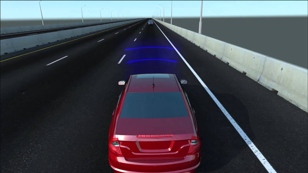 Front Car Crash 3D Animation - Accident Prevention by Auto Braking ...