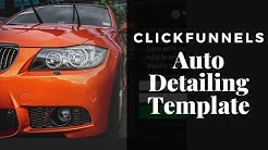 Auto Detailing Marketing: Sales Funnel Template for Clickfunnels