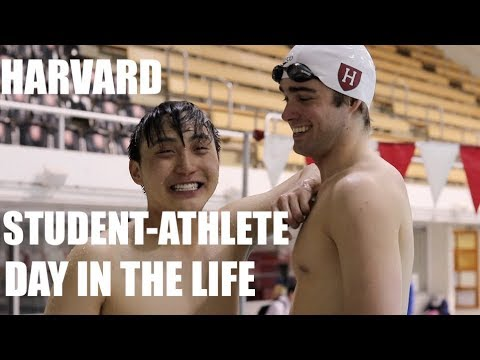 Day In The Life - Harvard Student Athlete - Finals Season