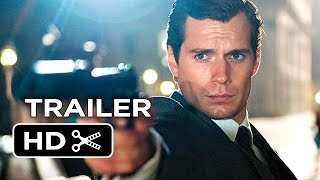 The Man From U.N.C.L.E. Official Trailer #1 (2015) - Henry Cavill, Armie Hammer Movie HD