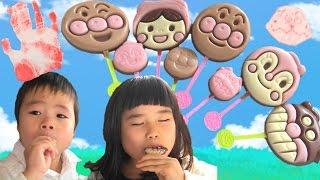 アンパンマン ペロペロチョコレート スタンプしたよ♫ Anpanman Lollipop Chocolates thumbnail