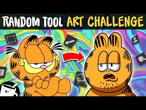 Random Tool Art Challenge