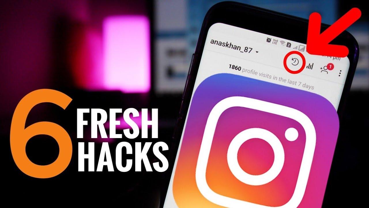6 Fresh New Cool Instagram Hacks 2018