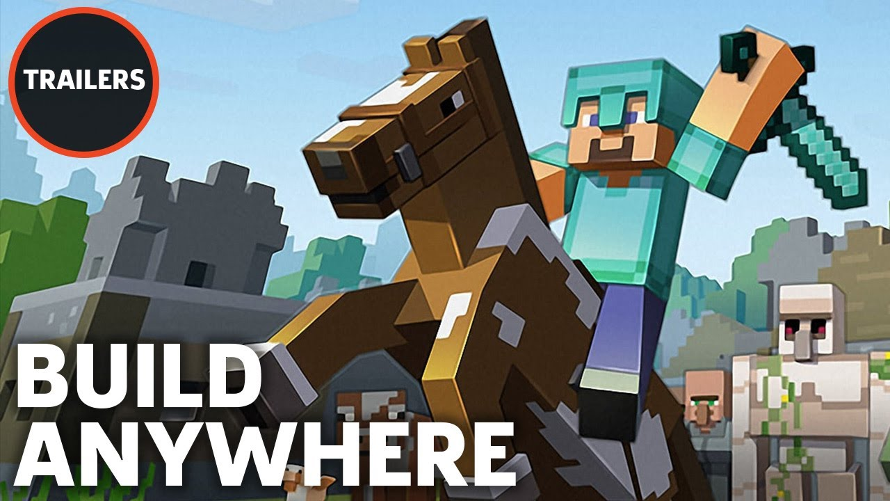Minecraft For 3ds Launch Trailer
