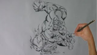 How to Draw Hulk - Marvel Comic