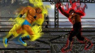 [TAS] Tekken Tag Tournament - King vs. Armor King