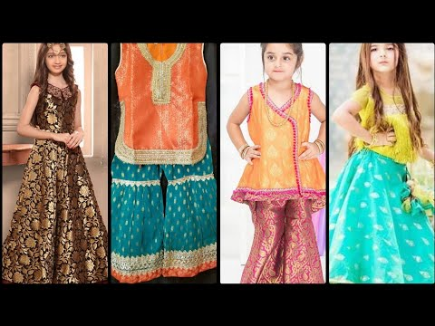 Kids Lehenga Choli Designs For Weeding in 2019