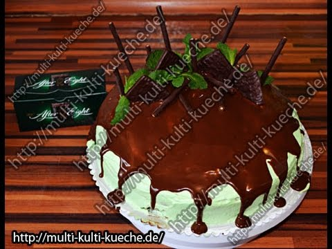 After Eight Torte Youtube