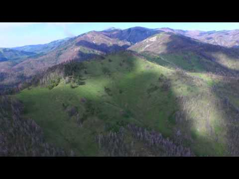 Ruidoso New Mexico - Monjeau Lookout Flyover