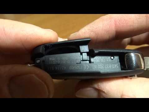 ключ skoda выкидной разбор