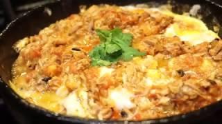 بيض مع تونة بالطريقة اليمنية