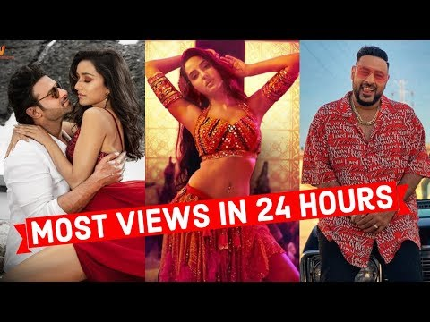 top-20-most-viewed-indian/bollywood-songs-in-first-24-hours-|-hindi,-punjabi-songs