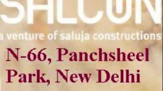 Salcon N-66 Panchsheel Park South Delhi Builder Floor Villas Flats Collaboration Rent Property Sale