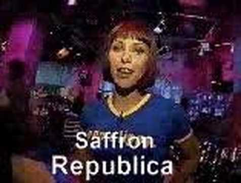 saffron from republica on MuchMusic